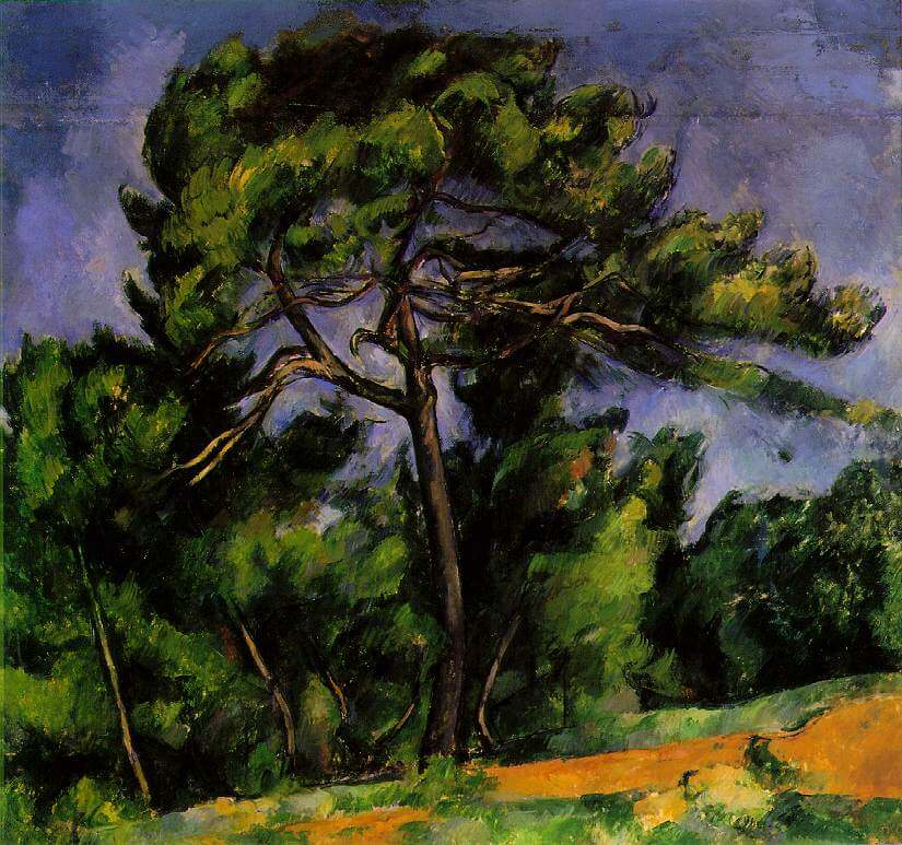The Great Pine, 1892 by Paul Cezanne