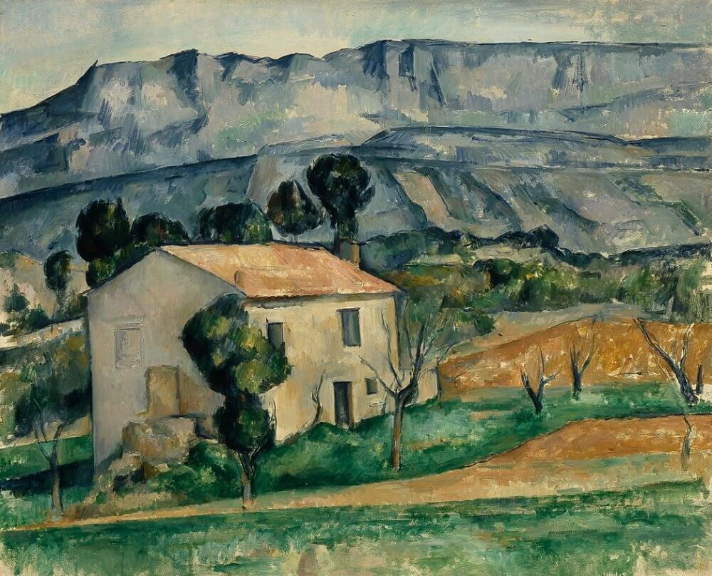 House In Provence, 1885-86 by Paul Cezanne