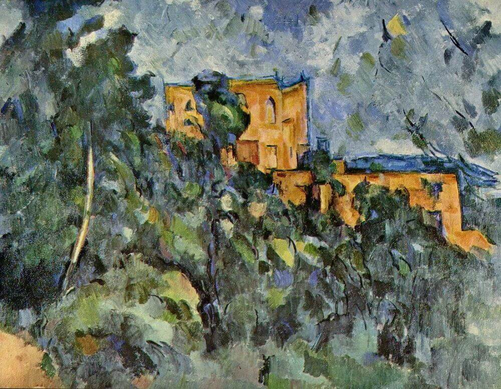 Le Chateau Noir, 1906 by Paul Cezanne