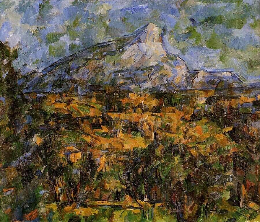 Mont Sainte-victoire Analysis Mont Sainte-victoire