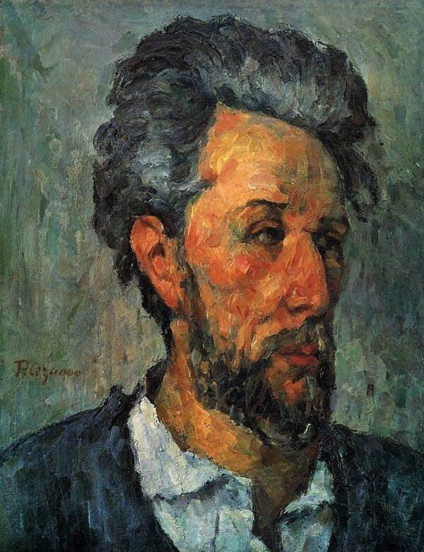 Portrait of Chocquet, 1876 by Paul Cezanne