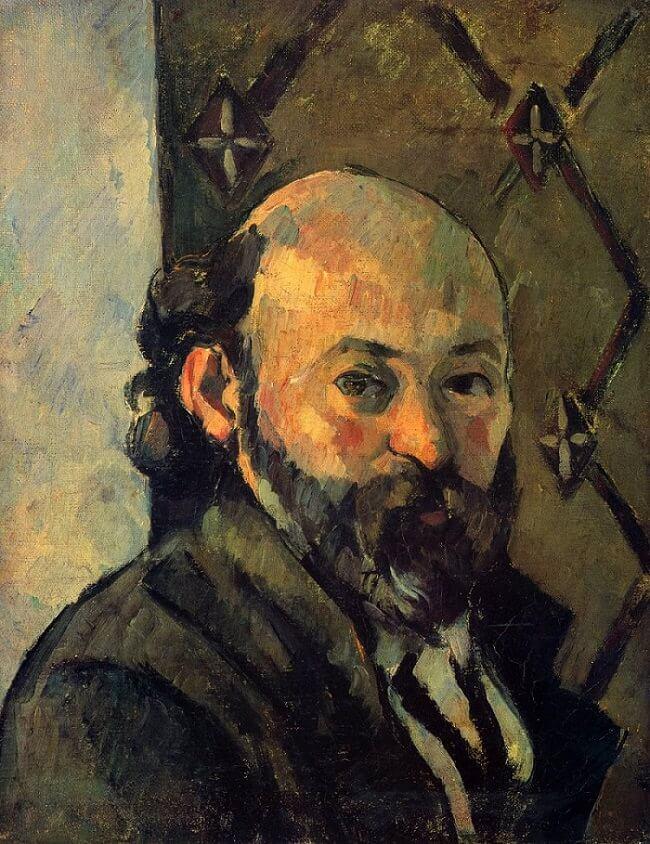 Self Portrait, 1879 by Paul Cezanne