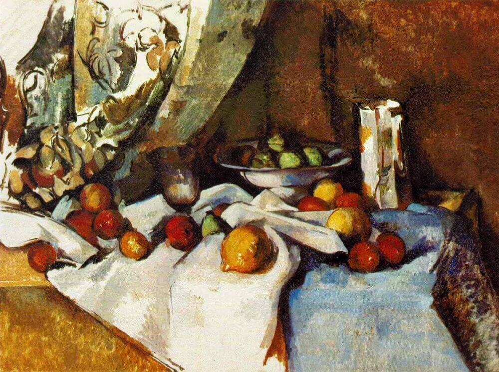 Still Life with Apples, 1898 by Paul Cezanne