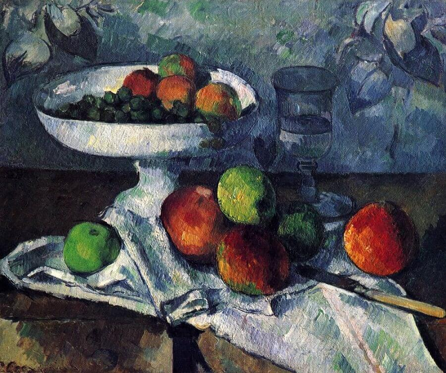 Still Life with Compotier, 1879 by Paul Cezanne