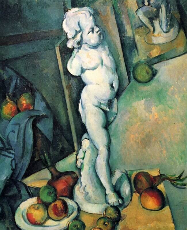 Still Life with Plaster Cupid, 1895 by Paul Cezanne