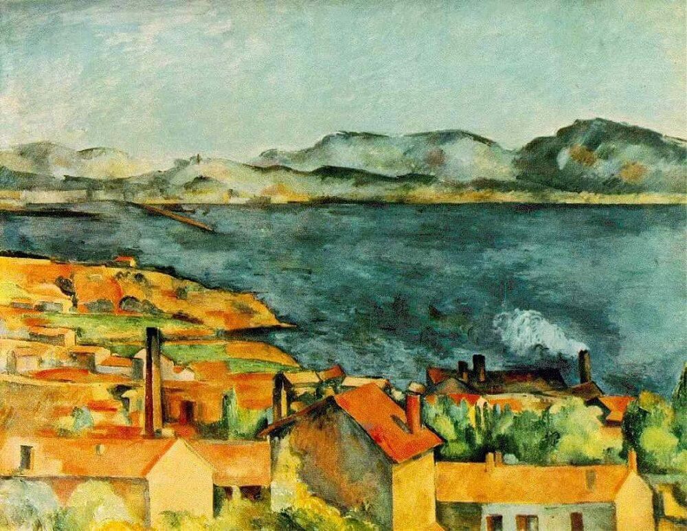 The Bay from L'Estaque, 1886 by Paul Cezanne