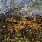 Mont sainte victoire seen from bellevue